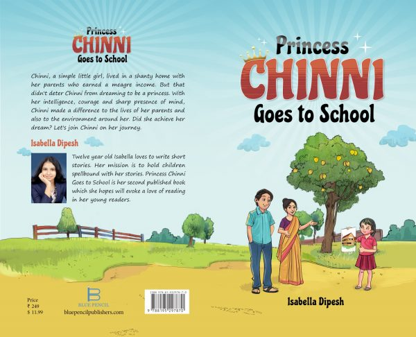 PRINCESS CHINNI GOES TO SCHOOL FULL COVER